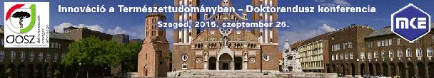 Innováció a Természettudományban - Doktorandusz konferencia 2015